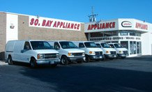 South Bay Appliance Showroom